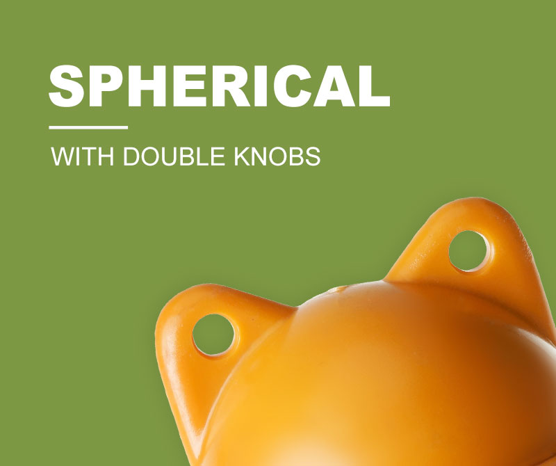 Spherical Float (with double knobs)