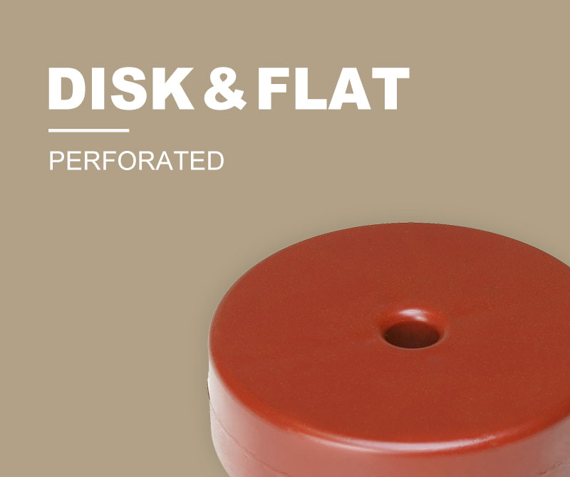 Disk Float (perforated) & Flat Float (perforated)